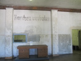 First No Smoking sign: Dachau Concentration Camp
